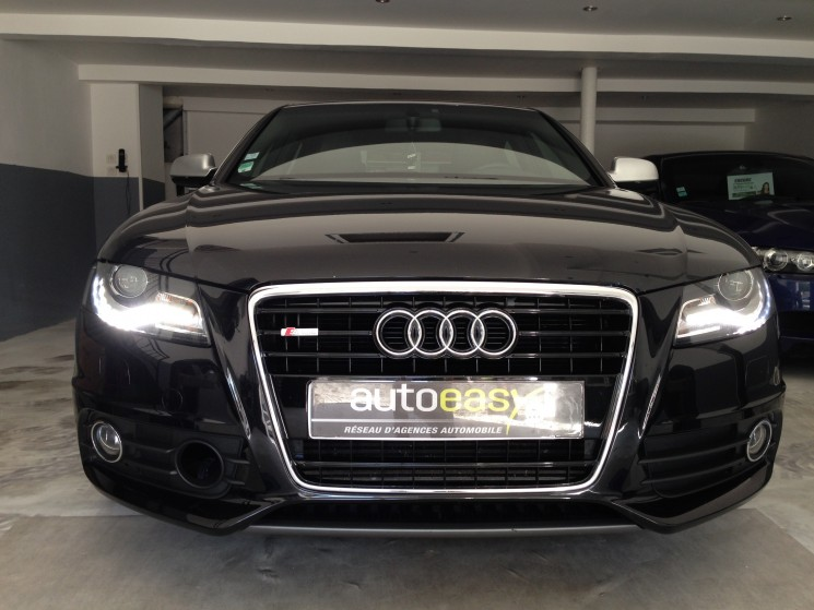 voiture audi a4 8k2 2 0 tdi 16v fap 143 cv s line occasion diesel 2009 139000 km 12500. Black Bedroom Furniture Sets. Home Design Ideas