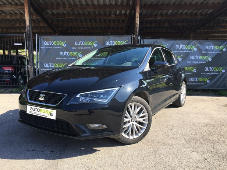 seat leon 1 6 tdi 110 ch premium gtie constructeur autoeasy. Black Bedroom Furniture Sets. Home Design Ideas