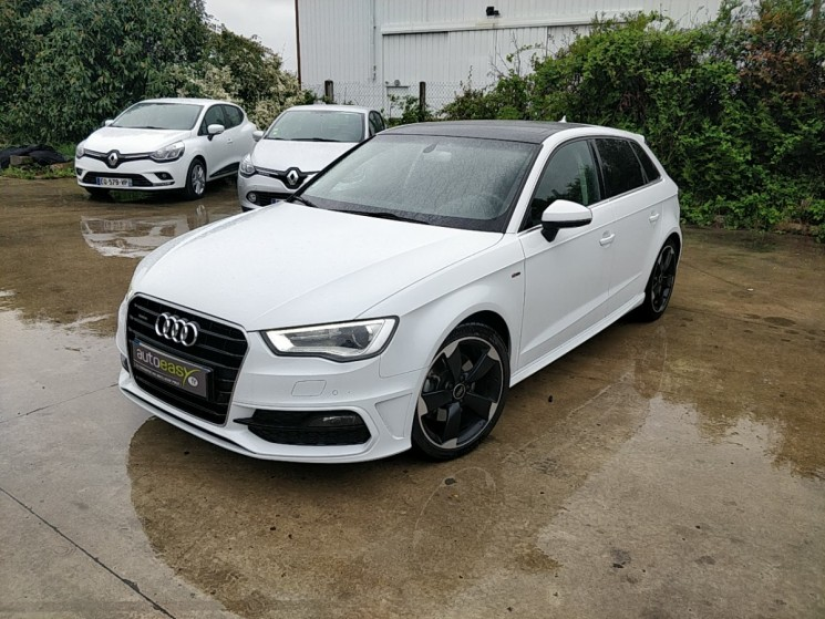 audi a3 sportback 2 0 tdi 184 ambition luxe sline autoeasy. Black Bedroom Furniture Sets. Home Design Ideas