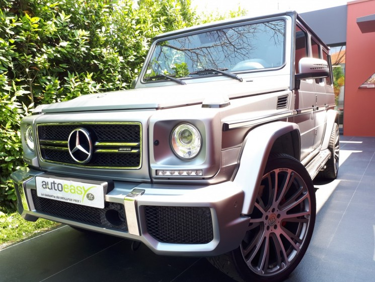 Mercedes classe g 63 amg v8 biturbo 544 autoeasy for Interieur mercedes