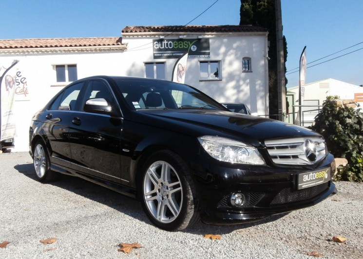 voiture mercedes classe c 220 cdi avantgarde pack amg occasion diesel 2008 140000 km. Black Bedroom Furniture Sets. Home Design Ideas