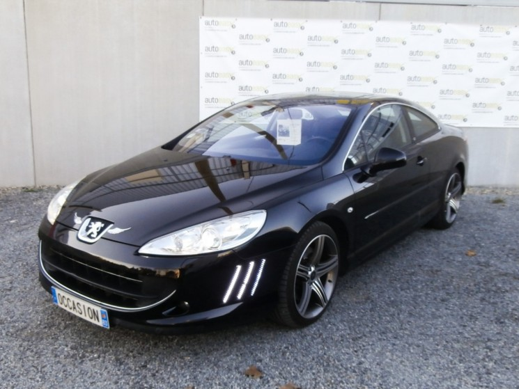 voiture peugeot 407 coupe 3 0 v6 hdi 240 gt tat neuf occasion diesel 2010 150000 km. Black Bedroom Furniture Sets. Home Design Ideas