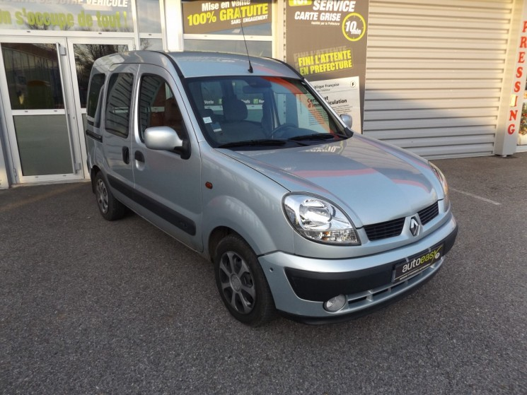 voiture renault kangoo phase 2 1 5 dci 80 disribution ok occasion diesel 2005 138000 km. Black Bedroom Furniture Sets. Home Design Ideas