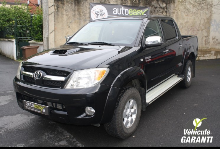 voiture toyota hilux 3 0 d 4d bva legende dble cab occasion diesel 2009 169900 km 17490. Black Bedroom Furniture Sets. Home Design Ideas