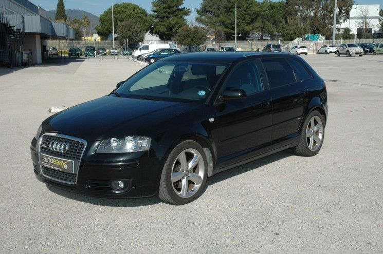 voiture audi a3 sportback 2 0 tdi 170 sline occasion diesel 2007 148900 km 7990 la. Black Bedroom Furniture Sets. Home Design Ideas