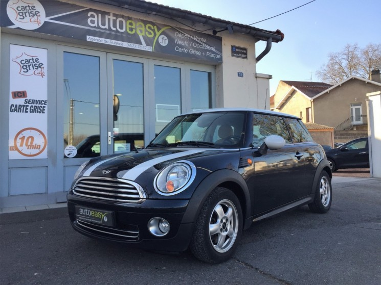 voiture mini cooper 1 6 120 pack chili occasion essence 2007 94000 km 8490 roanne. Black Bedroom Furniture Sets. Home Design Ideas