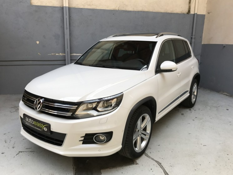 voiture volkswagen tiguan 2 0 tdi 140 r exclusive 4motion occasion diesel 2013 85900 km. Black Bedroom Furniture Sets. Home Design Ideas
