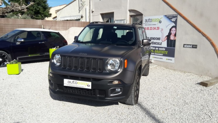 voiture jeep renegade 2 0 crd 140 4 wd s s night eagle occasion diesel 2016 6000 km. Black Bedroom Furniture Sets. Home Design Ideas
