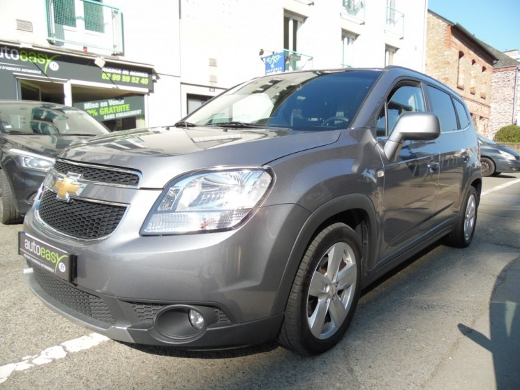 voiture chevrolet orlando 2 0 vcdi 163 ltz gps camera 7 pl. Black Bedroom Furniture Sets. Home Design Ideas