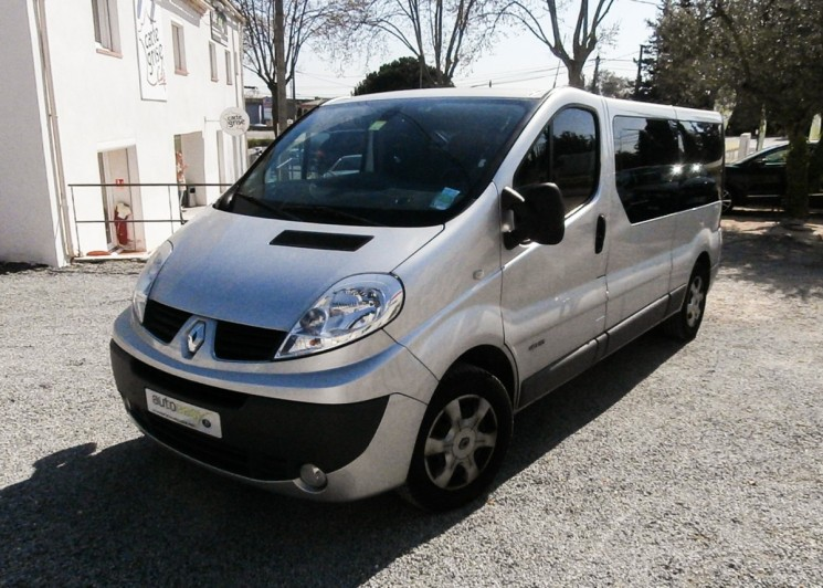renault trafic l2 passenger 2 0 dci 115 9 places occasion. Black Bedroom Furniture Sets. Home Design Ideas
