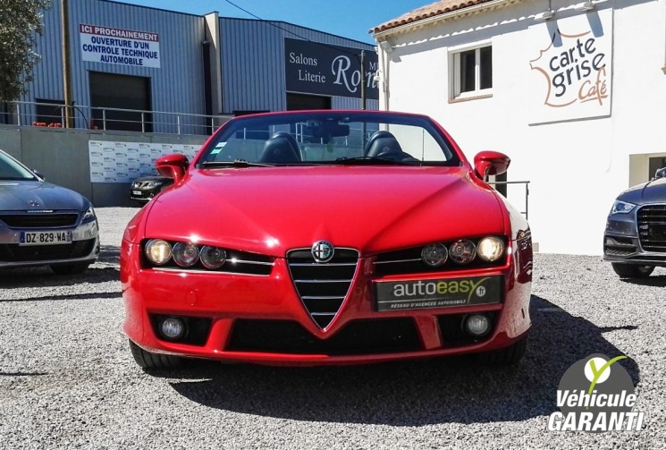 voiture alfa romeo brera spider 2 4 jtdm 200 exclusive occasion diesel 2007 121000 km. Black Bedroom Furniture Sets. Home Design Ideas