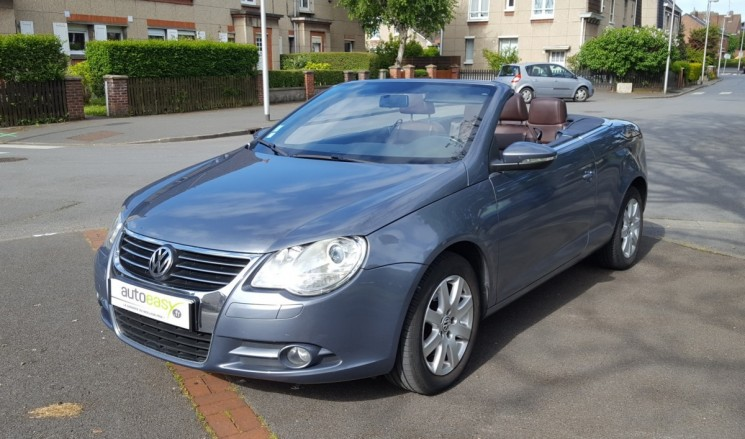 voiture volkswagen eos 2 0 tdi 140 cv carat cuir occasion diesel 2009 101930 km 10490. Black Bedroom Furniture Sets. Home Design Ideas