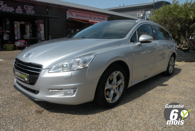 voiture peugeot 508 sw 2 0 hdi 163 ch feline ba occasion diesel 2011 114000 km 13990. Black Bedroom Furniture Sets. Home Design Ideas