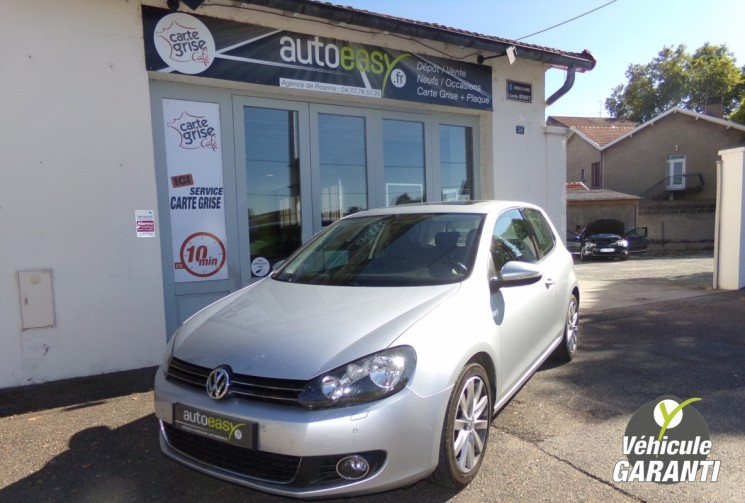 volkswagen golf vi 2 0 tdi 140 carat autoeasy. Black Bedroom Furniture Sets. Home Design Ideas