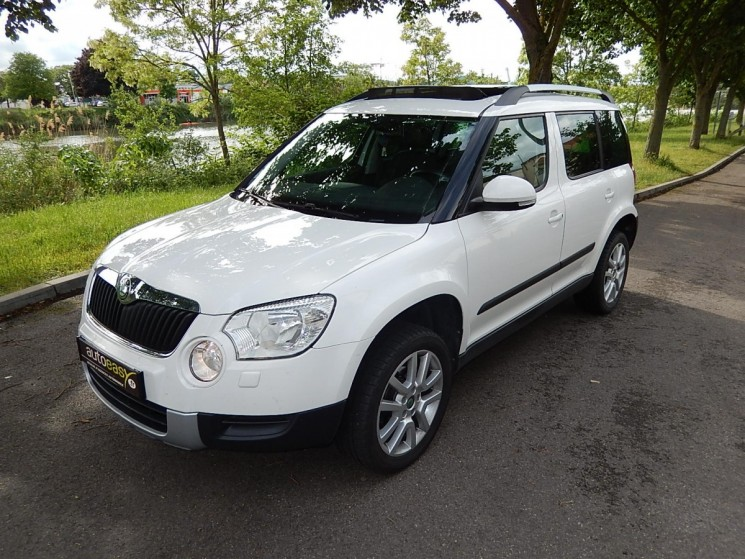 voiture skoda yeti 2 0 tdi 110 experience occasion. Black Bedroom Furniture Sets. Home Design Ideas