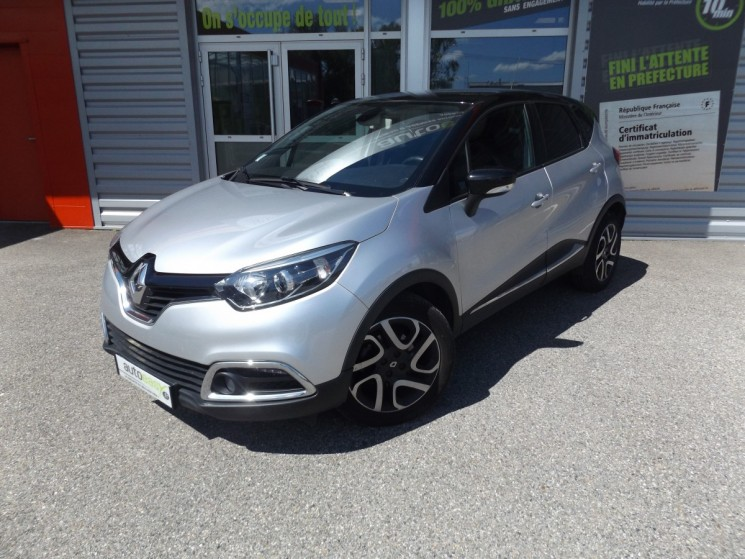 voiture renault captur 1 5 dci 90 eco intens occasion diesel 2014 54500 km 11990. Black Bedroom Furniture Sets. Home Design Ideas