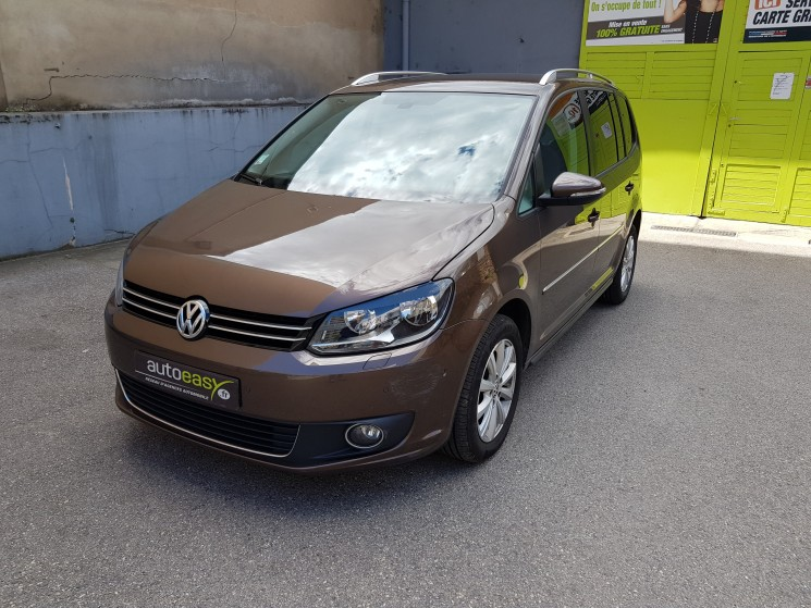 Volkswagen touran tdi 140cv carat 7places autoeasy for Touran interieur 7 places