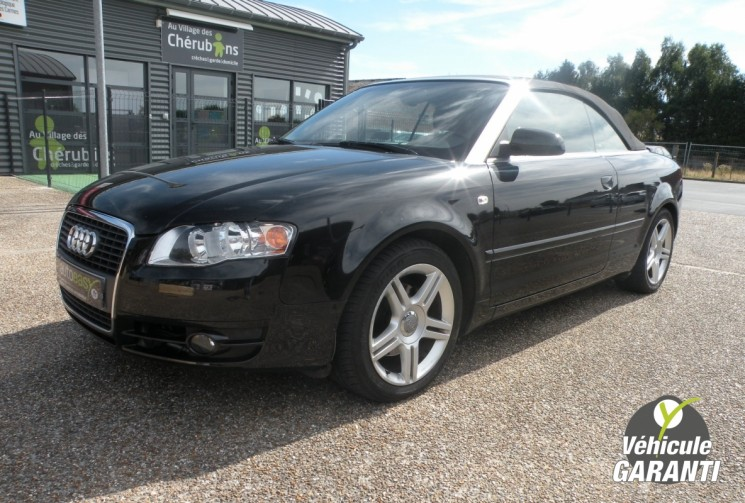 voiture audi a4 cabriolet 2 0 tdi 140 ch ambiluxe occasion diesel 2007 125059 km 11690. Black Bedroom Furniture Sets. Home Design Ideas
