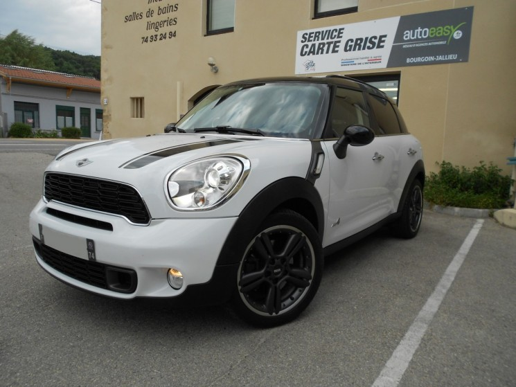 mini mini countryman cooper s 184 ch all4 autoeasy. Black Bedroom Furniture Sets. Home Design Ideas