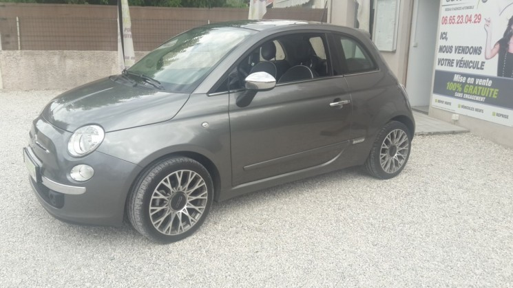 fiat 500 1 3 95cv jtd lounge 18 500 km autoeasy. Black Bedroom Furniture Sets. Home Design Ideas