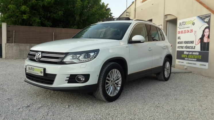 voiture volkswagen tiguan 140 cv cup toit pano pack techno occasion diesel 2015 42296 km. Black Bedroom Furniture Sets. Home Design Ideas