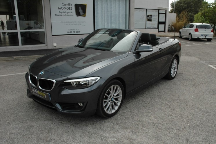 bmw serie 2 218i 136 cabriolet luxury bva autoeasy. Black Bedroom Furniture Sets. Home Design Ideas