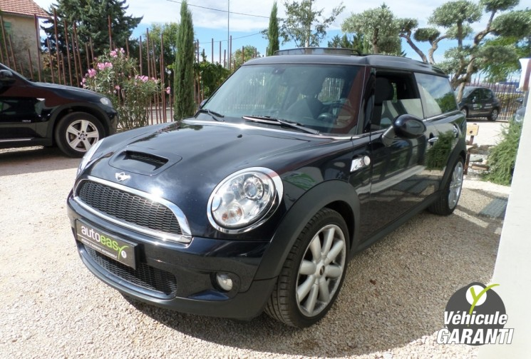 voiture mini clubman clubman cooper s 1 6 175 gps toit pano occasion essence 2008 68000 km. Black Bedroom Furniture Sets. Home Design Ideas