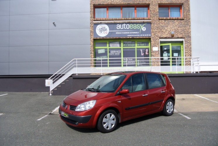 renault scenic scenic 2 1 5dci 106 ch autoeasy. Black Bedroom Furniture Sets. Home Design Ideas