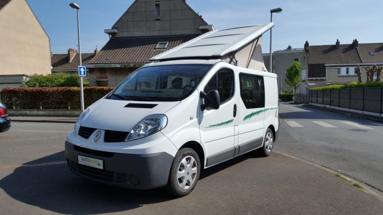 renault trafic 2 0 dci camping car 73910 kms autoeasy. Black Bedroom Furniture Sets. Home Design Ideas