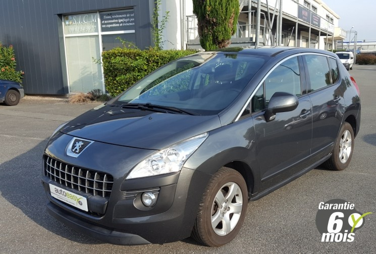 voiture peugeot 3008 112 active grip control toit pano occasion diesel 2011 84700 km. Black Bedroom Furniture Sets. Home Design Ideas