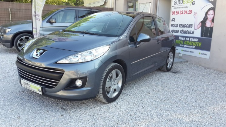 peugeot 207 1 6 vti 120 cv sport 16 000 km autoeasy. Black Bedroom Furniture Sets. Home Design Ideas