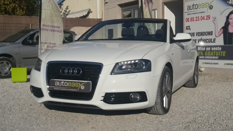 voiture audi a3 1 6 tdi 105 cv cabriolet gps occasion diesel 2011 74500 km 14990. Black Bedroom Furniture Sets. Home Design Ideas