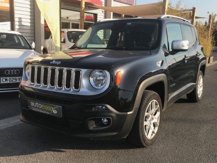voiture jeep renegade 2 0 multijet 140 ch 4x4 limited occasion diesel 2015 29100 km. Black Bedroom Furniture Sets. Home Design Ideas