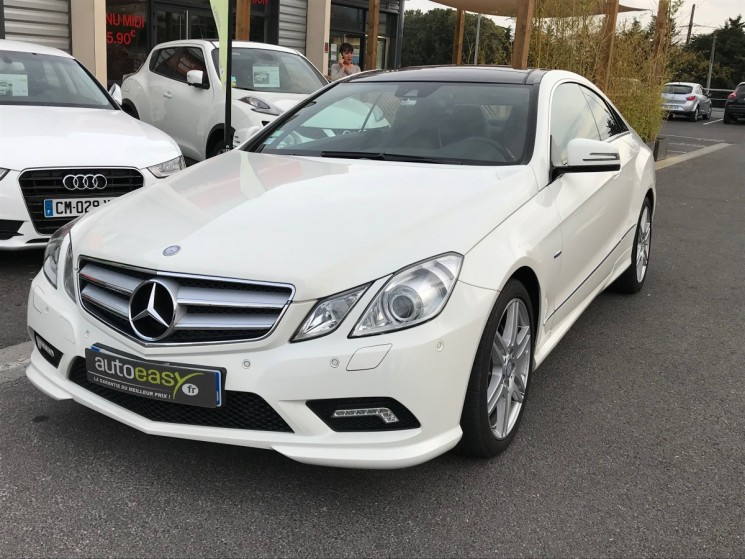voiture mercedes classe e 350 cdi coupe pack amg occasion diesel 2011 131000 km 20990. Black Bedroom Furniture Sets. Home Design Ideas