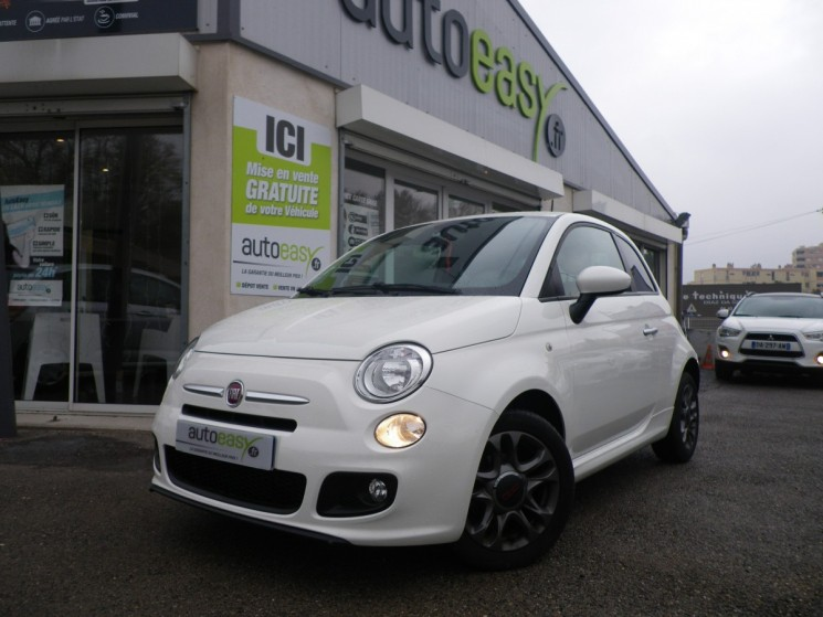 fiat 500 1 2 mpi 69 ch lounge 20000 km autoeasy. Black Bedroom Furniture Sets. Home Design Ideas
