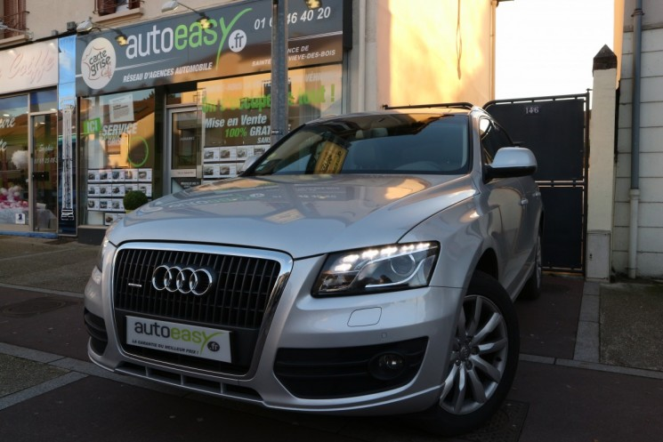 voiture audi q5 2 0 tdi 170 quatro avus toit panoramique occasion diesel 2011 111000 km. Black Bedroom Furniture Sets. Home Design Ideas