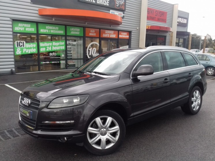 audi q7 3 0 v6 tdi 233 ch 5 pl ambition luxe autoeasy. Black Bedroom Furniture Sets. Home Design Ideas
