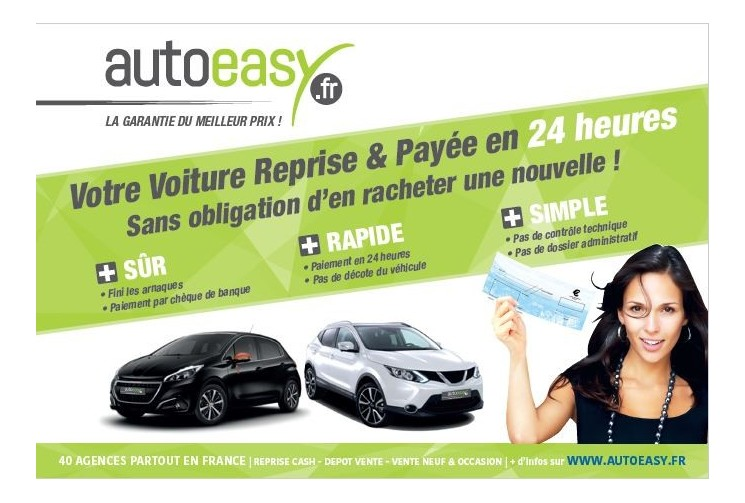 Agence AutoEasy CENTRALE D'ACHAT VO