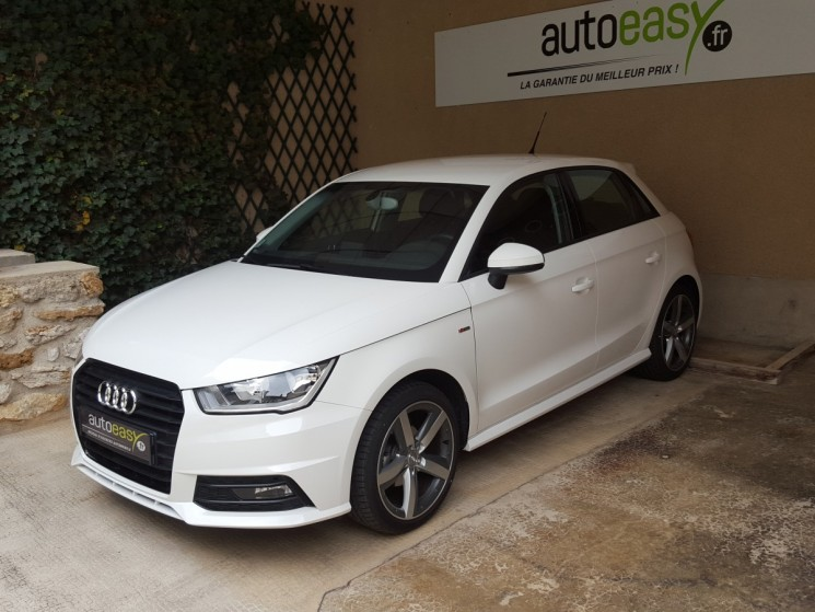 audi a1 sportback 1 4 tdi 90 ch pack s line 990km autoeasy. Black Bedroom Furniture Sets. Home Design Ideas