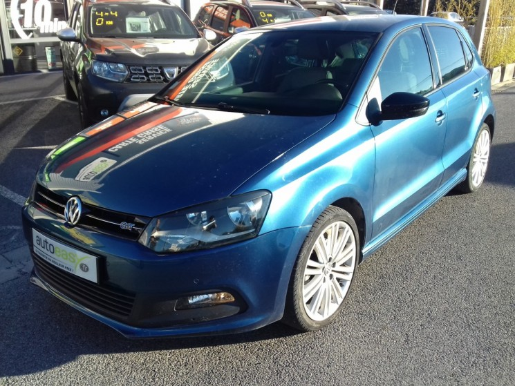 volkswagen polo 1 4 tsi 150 ch act 5p blue gt autoeasy. Black Bedroom Furniture Sets. Home Design Ideas