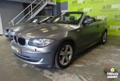 BMW SERIE 3 118d cabriolet luxe cuir+Gps