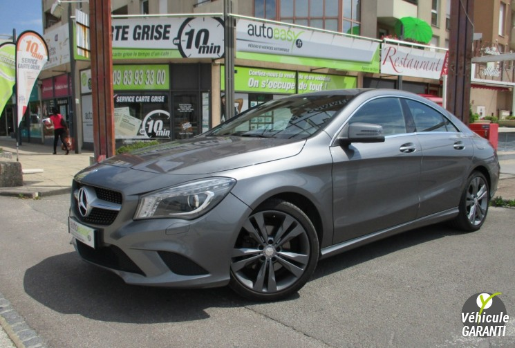 MERCEDES CLASSE CLA COUPE 2.2 CDI TURBO 170 7G-DCT