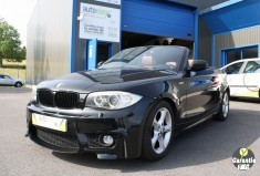 BMW SERIE 1 Cabriolet 120dA LUXE kit M Cuir GPS