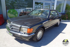 MERCEDES 560 SEC COUPE C126 ENTIEREMENT RESTAURE