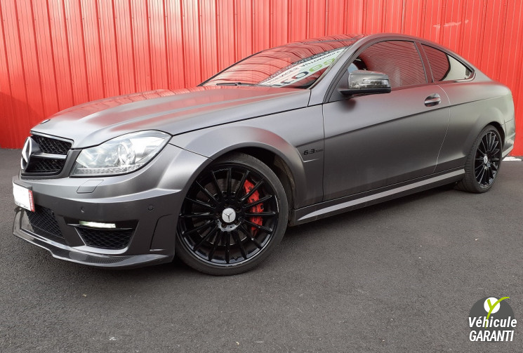 MERCEDES CLASSE C C63 AMG COUPE 6.2 V8 487 PERF